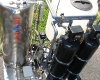 Water reuse system outside, looking down on unit.JPG